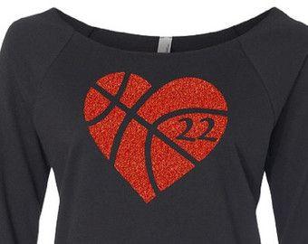 Basketball Mom Shirt. Basketball Mom. Glitter by TNTCustomApparel