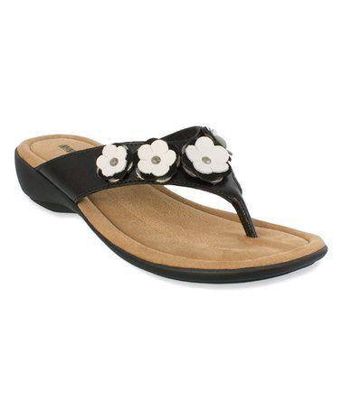b26ed16c0 Love this Black Solana Sandal - Women on  zulily!  zulilyfinds