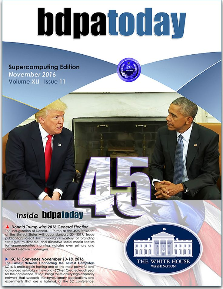 November 2016 Edition: #Supercomputing and #SC16 edition featuring post election #technology and Industry pre-review.