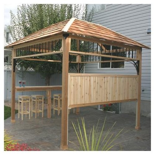 Naramata gazebo my ideal backyard oasis pinterest for Diy hot tub gazebo