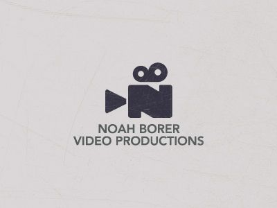 movie camera logo | Noah Borer Video Productions