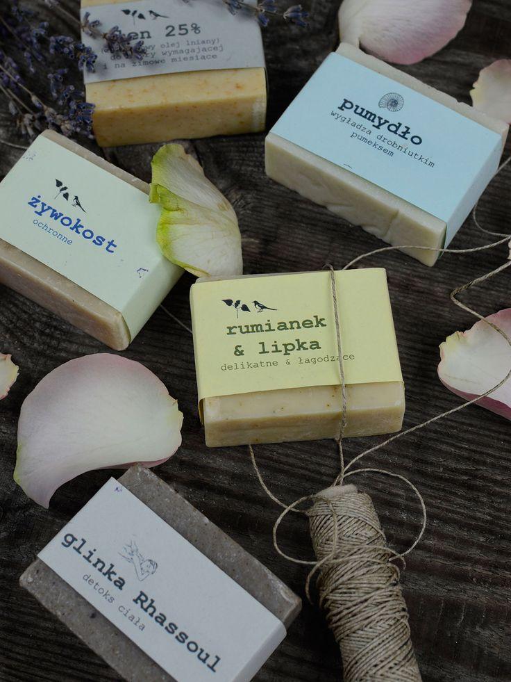 Mydła ręcznie robione z naturalnych składników i ziół zbieranych na dzikich nadbużańskich łąkach • 94b Hand Made