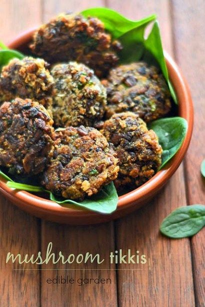 Mushroom tikki recipe, learn how to make easy mushroom tikki with a variety of mushrooms, bread crumbs, and spices. Step by step recipe.