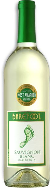 Barefoot Sauvignon Blanc is bursting with summer fruit flavors like honeydew melon, nectarine and peach. Pear and lime notes meld into a soft finish.