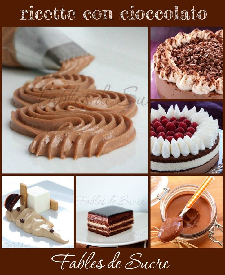 Utilissima in questo periodo post-pasquale, ecco una raccolta di ricette con cioccolato con tanti suggerimenti su come poterlo usare in molte preparazioni