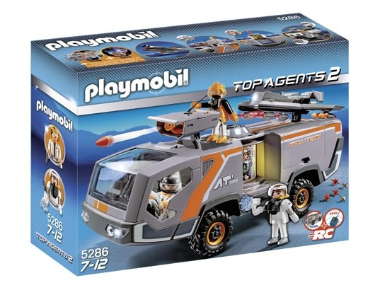 Jeu de construction PLAYMOBIL (2013)  5286 - Camion des Agents Secrets