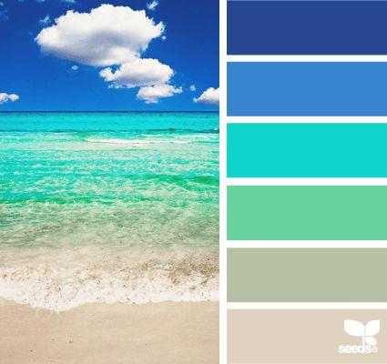 Blue +pastels +darker crescent +gray +light brown