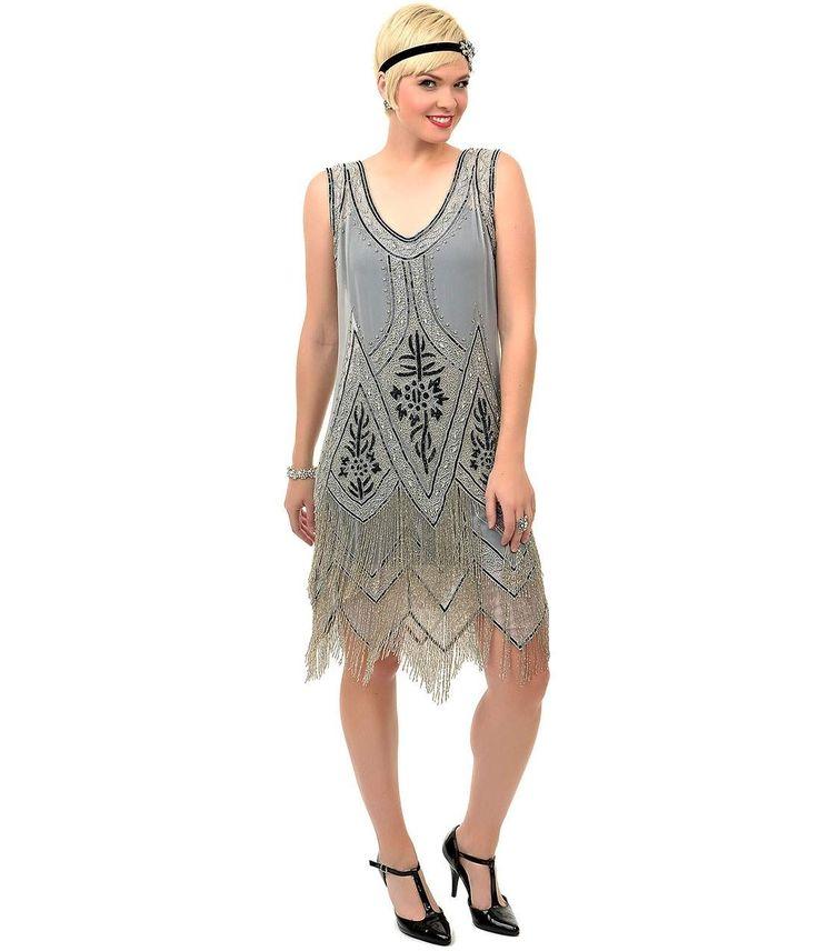 Atemberaubend Gatsby Stil Cocktailkleider Zeitgenössisch ...