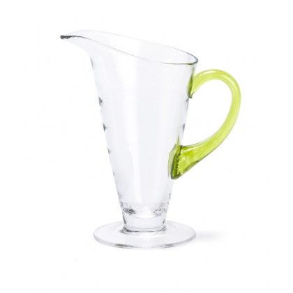 Nina Campbell Peridot Jewel Handle Jug, available from www.englishabode.com