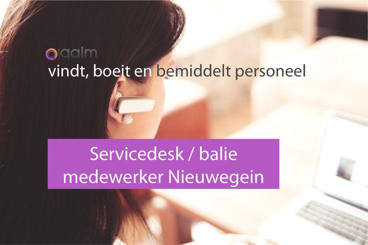 Op deze regenachtige 1e dag van de lente zoeken wij een service /… https://www.qalm.nl/vacatures/service-baliemedewerker-elektrotechniek/