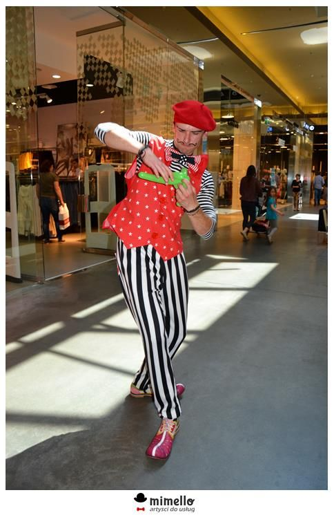 Klaun w Factory Ursus