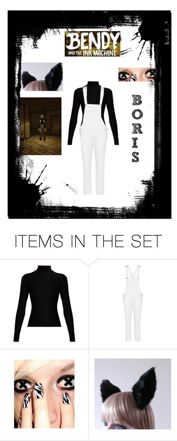 """Bendy and the Ink Machine: Boris"" by irken-invader-tak ❤ liked on Polyvore featuring art"