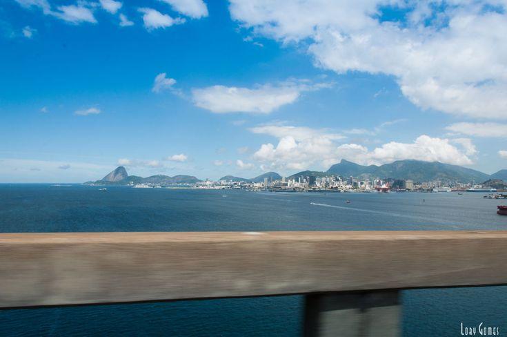 Ponte Rio Niteroi - Brazil by Lory Gomes