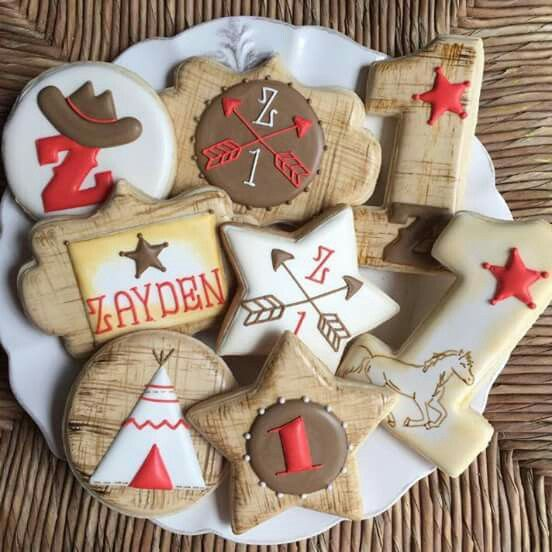 Cowboys and Indians (Star Cookie Cutter)