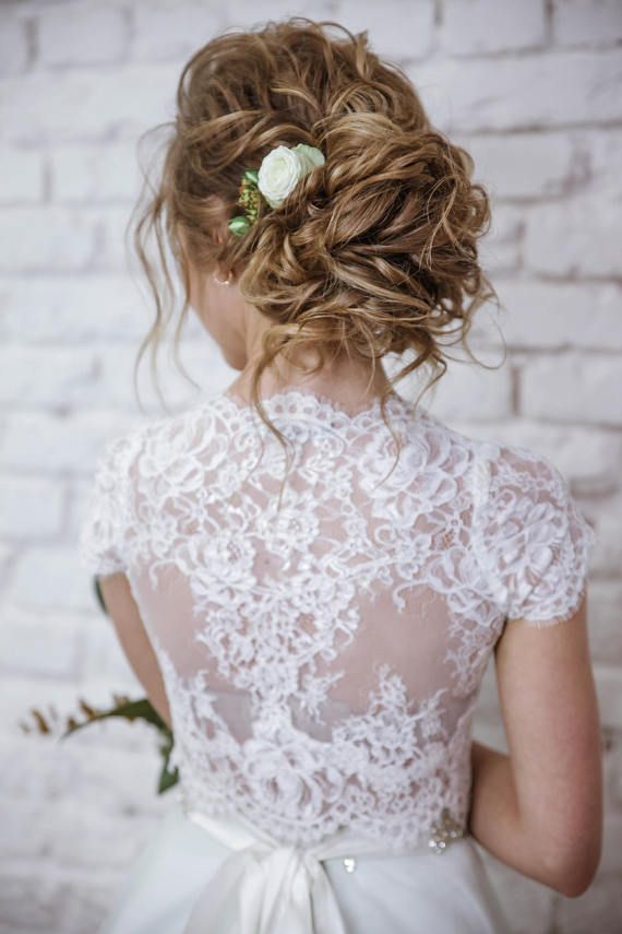 Wedding Crop Top Lace Crop Top Crop Top Wedding Dress Crop Top
