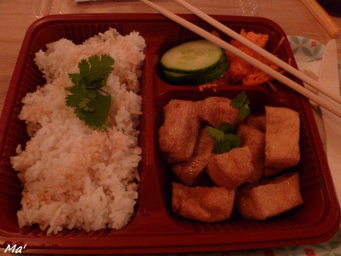 Banh Mi végétarien façon Bento - chez Bahn Me Tender - Paris 11e