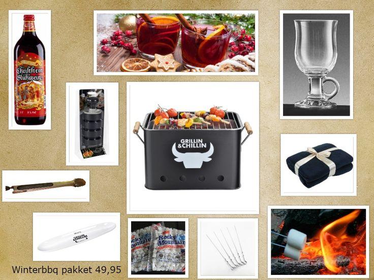 Boxez - Kerstpakket BBQ Chillin' & Grillin'  € 49,95