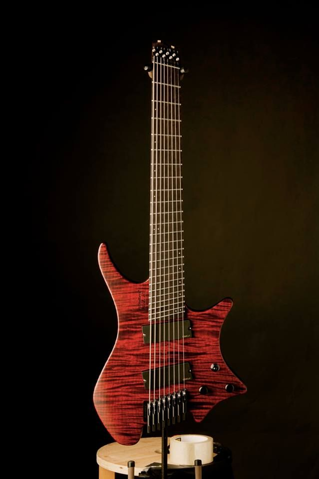 Strandberg boden 8 redrum finish 8 string guitars for Strandberg boden 6