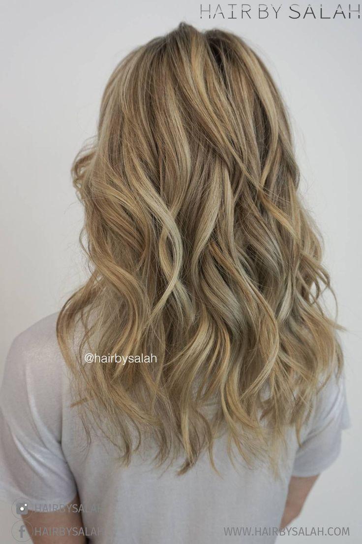 Summer Sandy Blonde Hair