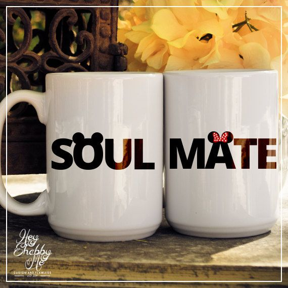 Two custom ceramic mugs showing your love for each other This is the perfect little gift for the coffee/tea lover. Each mug is professionally printed