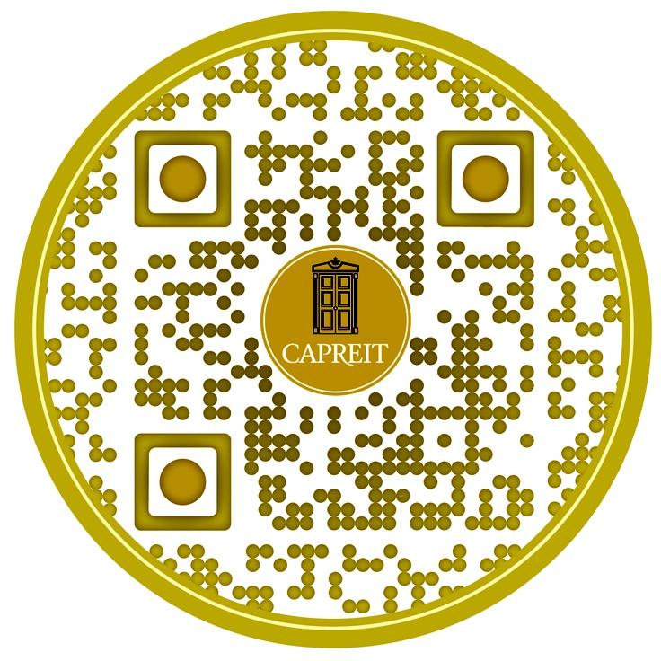 Check out this #SuperCool custom designed QR Code for http://www.CAPRENT.com (CAPREIT) by The RentSeeker.ca Team