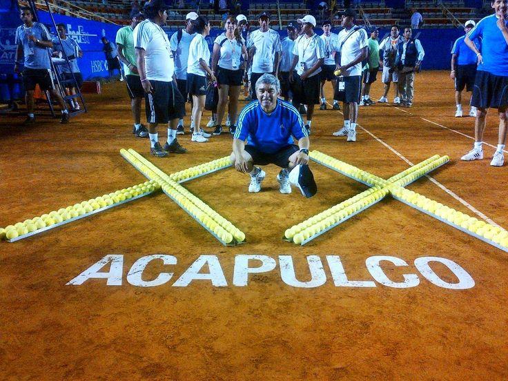Paco Galván al Abierto de Río de Janeiro y de Acapulco como Juez de Línea ~ Ags Sports