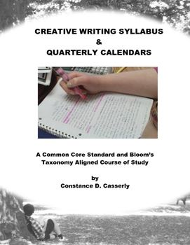 Creative writing syllabus high school