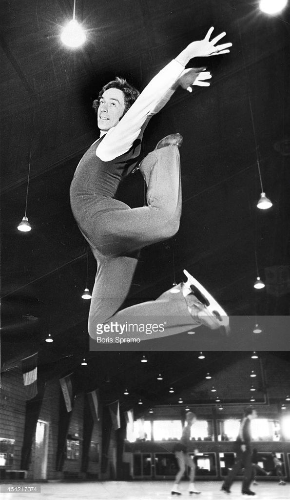 Figure skater Toller Cranston. Photo taken by Boris Spremo/Toronto Star Jan. 10, 1973.
