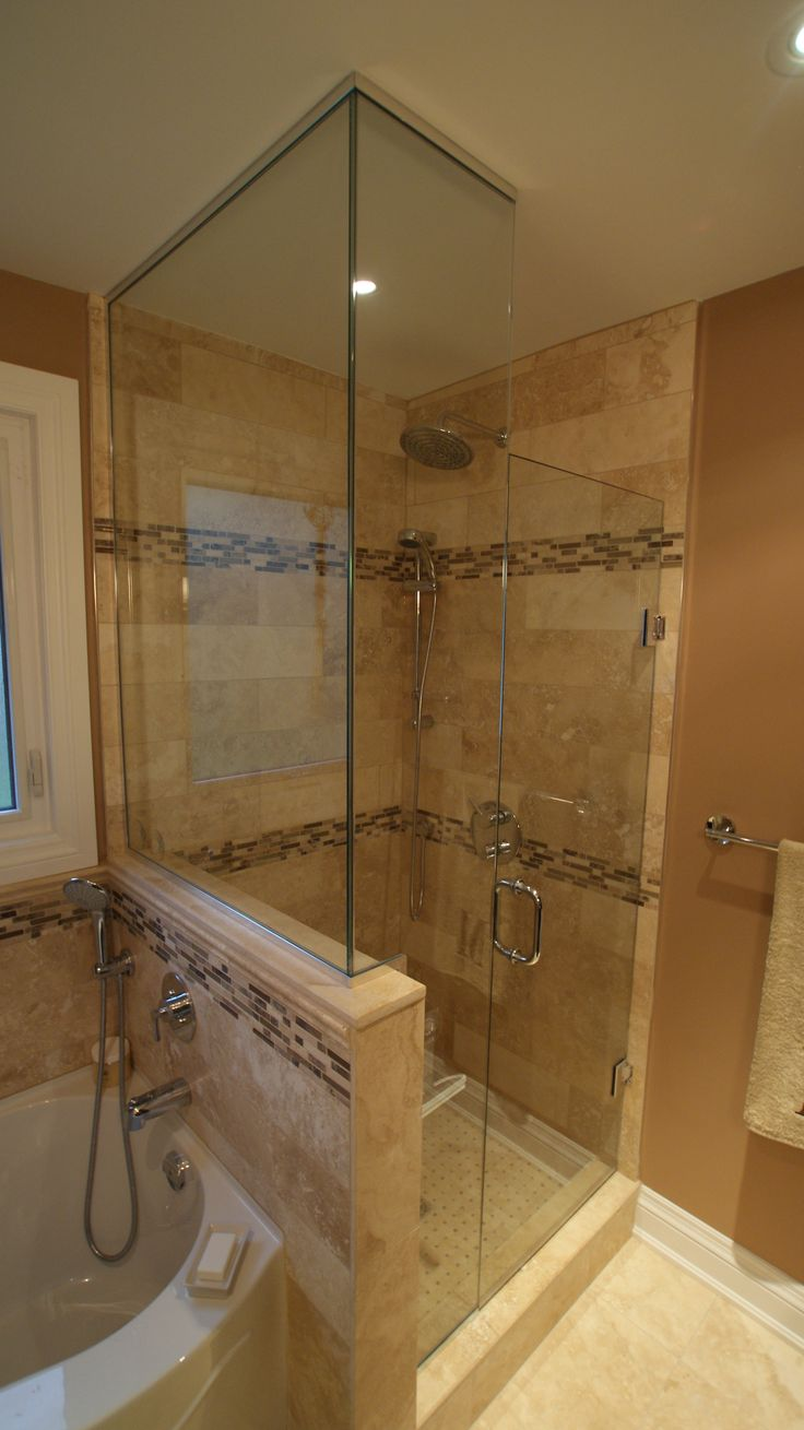 Best 20 stand up showers ideas on pinterest master bathroom shower master bathrooms and - Bathroom designs with jacuzzi tub ...