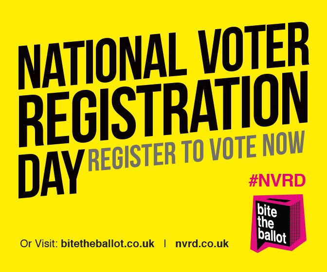 Lots of people don't know the full benefits of being registered to vote. Even more aren't aware that (after recent changes to the law) they have to register to vote individually. The next UK General Election takes place on 7 May 2015 and 7.5 million people won't be able to vote because they don't appear on the electoral register.