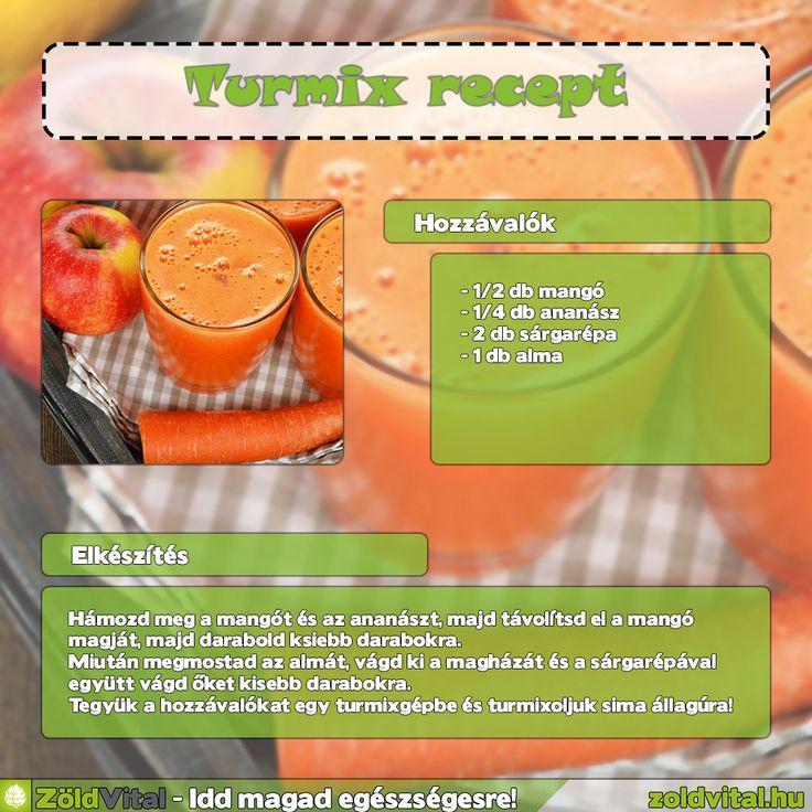 Almás répás turmix recept #turmix #recept