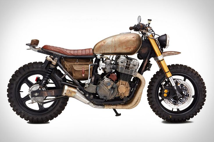 The Walking Dead Motorcycle Based On The 1992 Honda Cb750