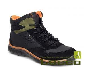 Кожаные ботинки спортивные