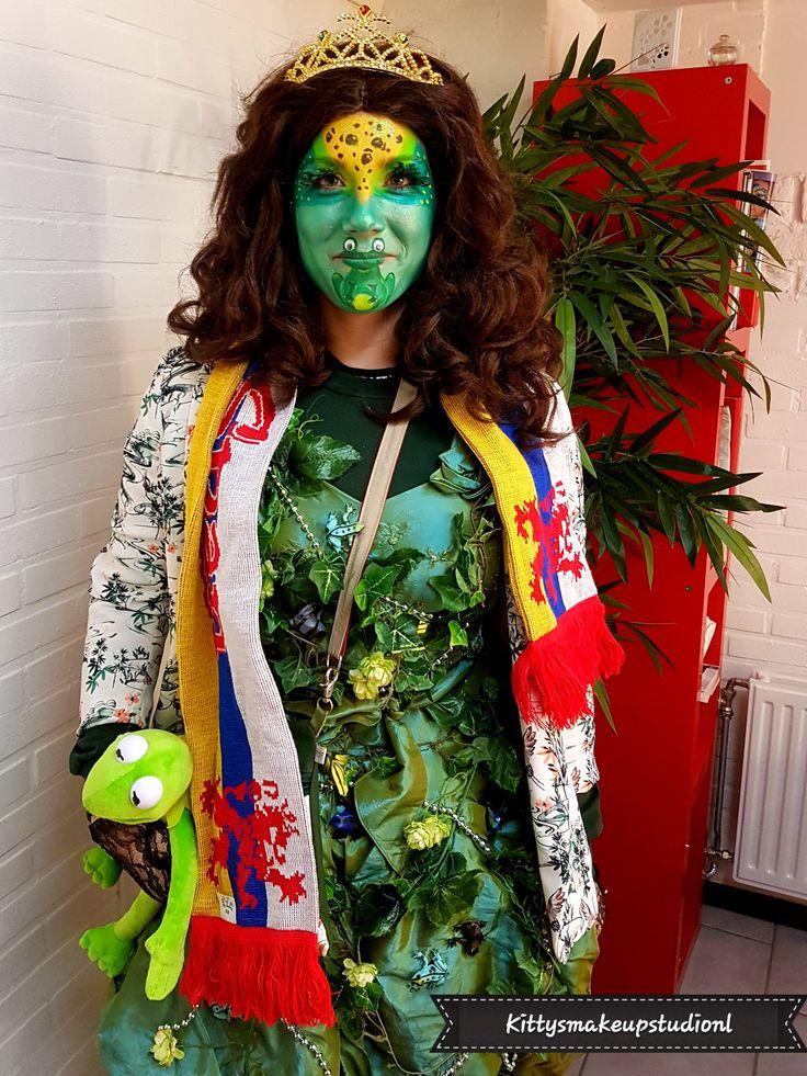 The frogprinsess De kikkerprinses in 2020 Make up studio