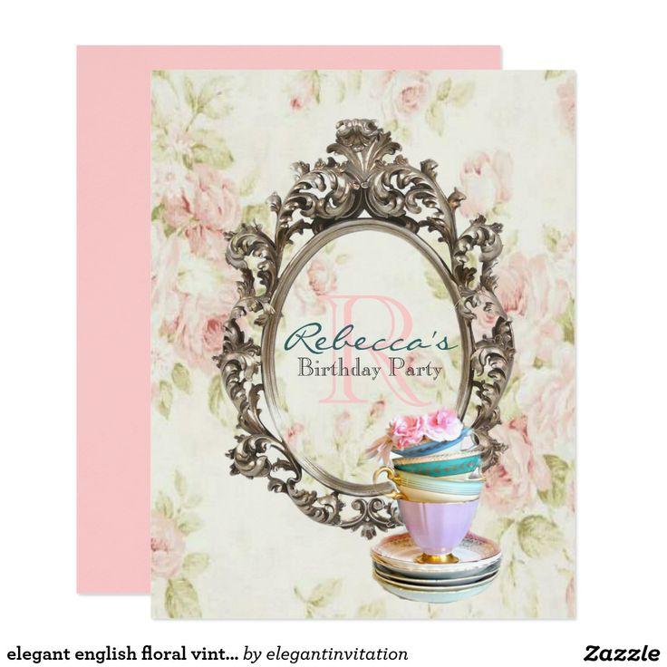 880 best Tea Party Invitiation images on Pinterest   Shops, Tea ...