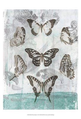 World Art Group, Butterflies & Filigree I, Jennifer Goldberger