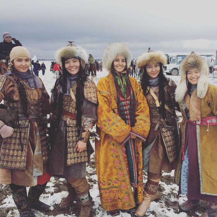 Kazakh national costumes