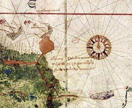 Даже великие ошибаются. Как известно, Христофор #Колумб был уверен, что приплыл к восточным берегам Азии. Однако кормчий его корабля, Хуан де ла Коза, подозревал, что они нашли нечто совершенно другое, новое. То, что даже трудно себе представить. Легче нарисовать… на карте. Первой, на которой появился Новый Свет…#стараякарта #стариннаякарта #карта #oldmap #map #antiquemap http://portulan.ru/?p=378