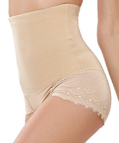 513e572fe FLORATA Women Body Shaper Shapewear Control Slim Tummy Corset High Waist  Panty Underwear