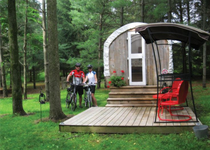 Cozy cabin rentals that offer a comfy take on summer camping. The arrival of camping season can inspire cheers from some members of the family, but tears from others. Fortunately, there's a solution to the great divide: redefine your definition of camping.