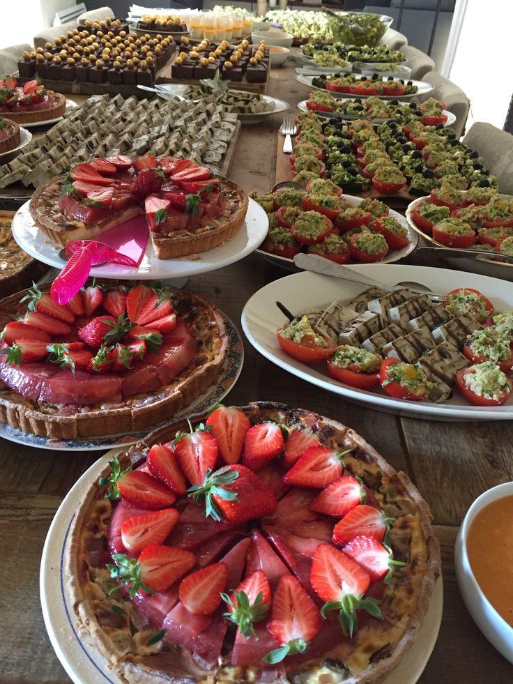 Notre Buffet de dessert pour le brunch de Pâques au domaine des Peyre était signé Olivier Gouin