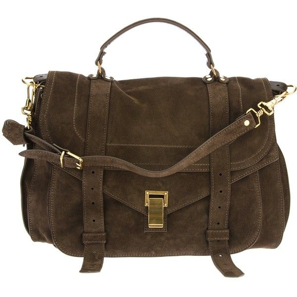 PROENZA SCHOULER 'PS1' large satchel found on Polyvore