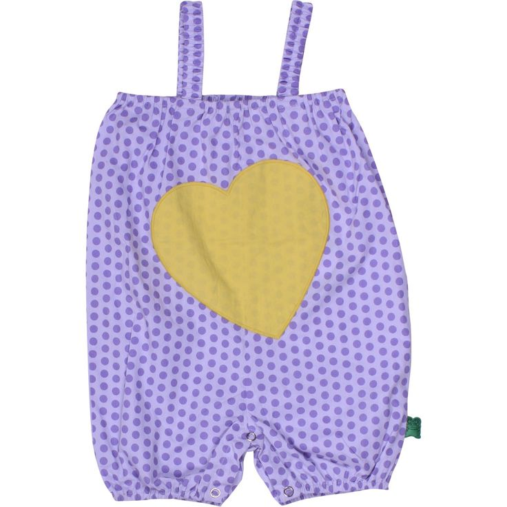 Fred's World - Organic Shorts Suit - Purple Heart