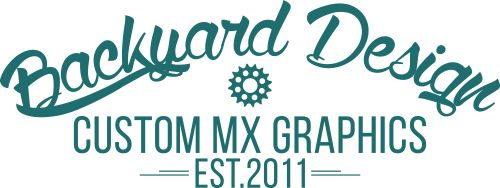 Suzuki Modified Original | BACKYARD DESIGN – Motocross Dekor, Motocross Design, MX Design