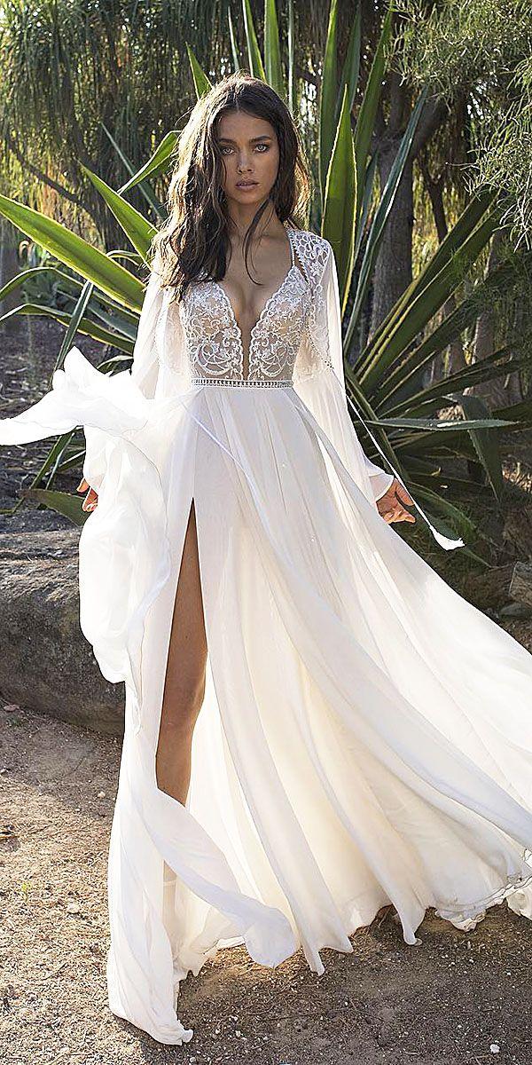 Fantastic Lace Beach Wedding Dresses ★ See more: https://weddingdressesguide.com/lace-beach-wedding-dresses/ #bridalgown #weddingdress