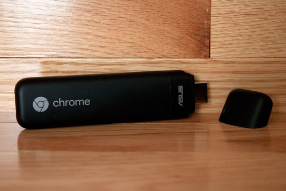 Just add a display, keyboard and mouse for a surprisingly handy.Chrome-on-stick experience.