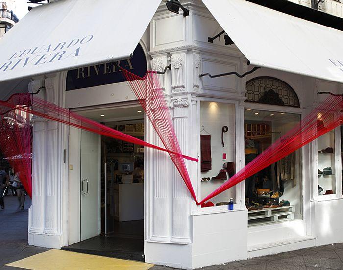 La tienda del diseñador Eduardo Rivera, en la Plaza del Ángel, con intervención de Casa Atelier.
