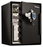 SentrySafe - 2.0 Cu. Ft. Fire- and Water-Resistant XXL Safe with Biometric Lock - Charcoal Gray