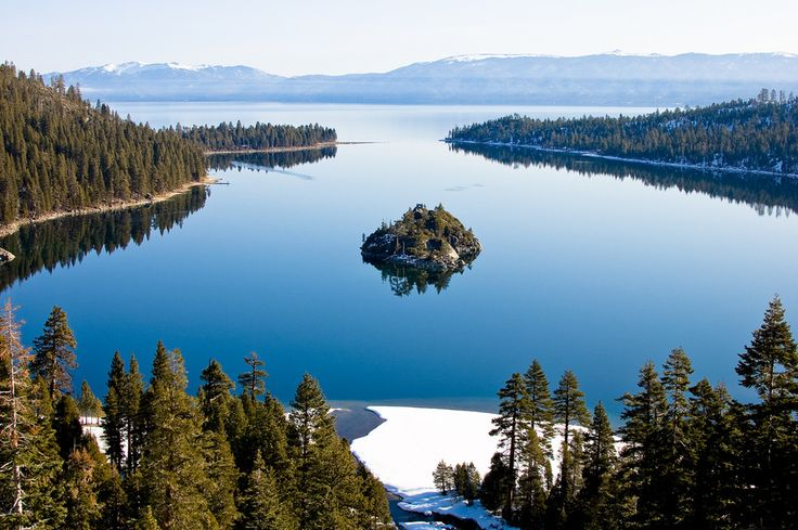 Lake Tahoe, California / 34 Places That Are Even Better During The Winter (via BuzzFeed)