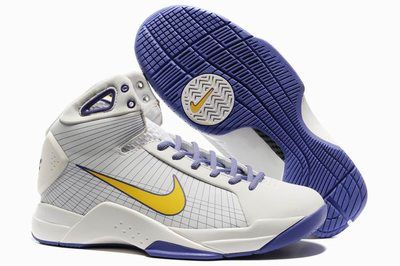 Nike Kobe Hyperdunk Home White Pro Gold Varsity Purple 324820 106 Shoes  Authentic